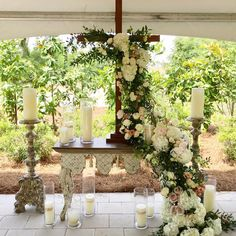 When a groom builds a chapel space for his bride, it is bound to be beautiful. Emily's Chapel was Mark's gift to Emily for their wedding. Their wedding was one of the most beautiful ones we have been a part of.