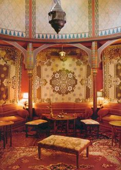 Victorian Home Interiors Moorish Turkish Style On