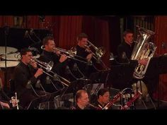 Young Person's Guide to the Orchestra (YouTube) by Benjamin Britten. Students can watch the symphony perform while the camera focuses on the instruments playing.  This is a great VISUAL AND AURAL method for students to begin recognizing the instruments.