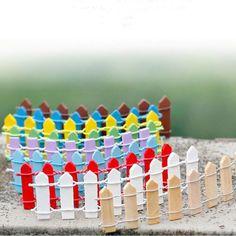 Model Building Kits Wooden Fence Model Handrail Sand Table Model Accessories For Dollhouse Garden Plant Room Park Micro Landscape Decor Children Toy Model Building