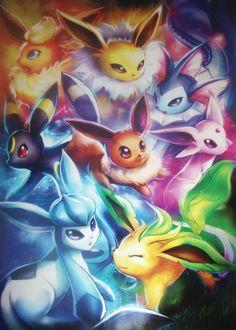 Eeveeloutions More Pokèmon Art, Eve Pokemon, Pokemon Eve Evolution, Eeveelut… Pokemon Fan Art, Pokemon Pins, Pokemon Memes, All Pokemon, Pikachu Art, Pokemon Fusion, Pokemon Cards, Pokemon Eevee Evolutions, Cute Pokemon Wallpaper