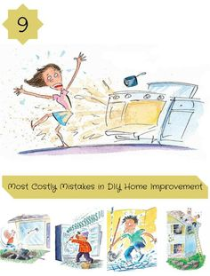 9 Most Costly Mistakes in DIY Home Improvement: These DIYers paid the price for their great goofs. Read on for some of the most expensive mistakes in home improvement history. http://www.familyhandyman.com/great-goofs/most-costly-mistakes-in-diy-home-improvement