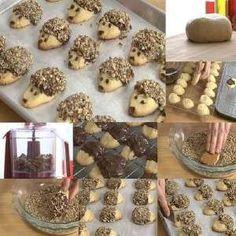 Come fare biscotti porcospino ricoperti di nutella