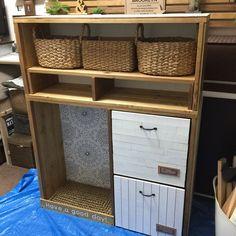 DIY☆キッチン収納棚にチャレンジ