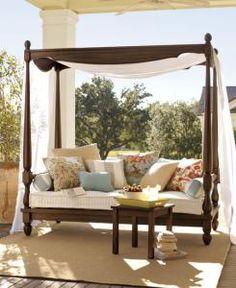 Romantic outdoor space
