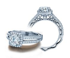 Verragio Venetian Collection.. he dinally asked and of course i said yes!!! my ring looks almost identical to this with a 1c. center stone :) save the date.. either aug 31st. 2013 or oct 13th 2013  not sure yet!