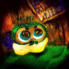 Nusutto Miz #mizumushikun #character #japan #japanese #funny #nusutto #karakusa #pattern #vivid #color #fun #bright #art #alien