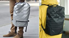 Take a glance at this Tessel Jet Pack Backpack currently on Kickstarter. It's a professional, youthful and fun. C'mon, who doesn't like laminated triangle facets? #handbag #materials #design http://www.kickstarter.com/projects/781197167/tessel-jet-pack-backpack