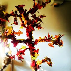 Butterfly tree #red #yellow #orange #bloomsstore #dry