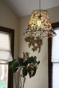 Nightshades bohemian style antique beaded lampshade beads and elijah tulis second and third story aloadofball Image collections