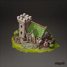 "Art for social game ""Dragon Shadow"" on Behance"