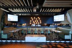 Benjamin Moore & Cosentino designed by Tyler Wisler #diningbydesign #tabletop