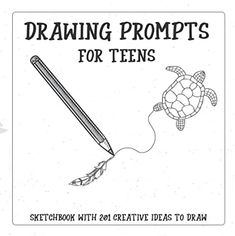 Amazon.com : drawings ideas creative Drawing Prompt, Prompts, Amazon, Drawings, Creative, Ideas, Amazons, Riding Habit, Sketches