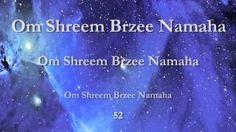Om Shreem Brzee Namaha - 108 Times - YouTube