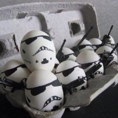 Quick! Scramble the storm troopers!