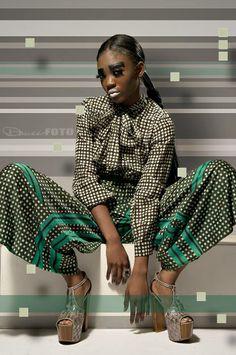 #style #glam #futuristic