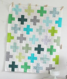 Lovely colors in this quilt by Allison Harris of Cluck Cluck Sew. There is beauty in simplicity.