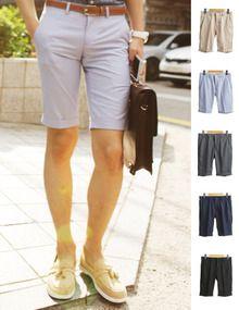 Today's Hot Pick :经典纯色西服短裤—潮流男士 http://fashionstylep.com/SFSELFAA0003095/top3666cn/out 精致不能相容我,简约而不简单的款,男人首选的西服短裤!经典的版型,纯净优雅,不论是都市休闲还是潮流商务,都可以展现自我时尚,流露个性独特!挽起的裤脚,更为整体都彰显出一股男人的魅力,配上件衬衫,尽情吸引她的目光吧! -西服短裤 -经典纯色 -五色可选