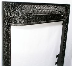 Antique cast iron Fireplace Surround arched ornate by oldstuffdave ...