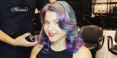 Rainbow Connection: I Tried Sand Art Hair  - HarpersBAZAAR.com