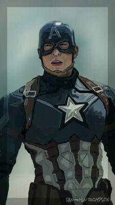 (Spen Art) Captain America