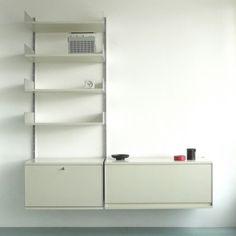 Vitsoe 606 Universal Shelving System / Dieter Rams