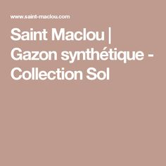 Saint Maclou | Gazon synthétique - Collection Sol