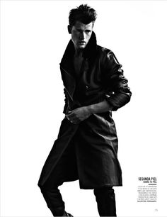 Sean O'Pry by David Roemer for Vogue Hombre México