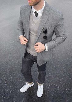 Sharp Gray On Gray Look Beautiful