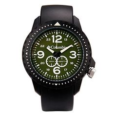 Columbia Unisex CA008050 Urbaneer Black Analog Sports Watch -- Watch details can be found by clicking on the image.