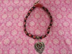 Pretty. Made this with a bandana and black hemp.