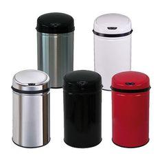 ECHTWERK Edelstahl Abfalleimer mit IR Sensor 30L Mülleimer verschiedene Farben