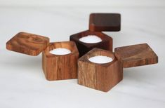 Salt Cellar with Lid, The Wooden Palate Wooden Plates, Wooden Bowls, Small Wood Projects, Wood Creations, Wooden Kitchen, Dose, Made Of Wood, Wood Turning, Wood Crafts