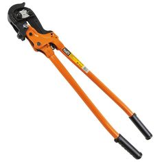 Heavy Duty Ratcheting Bolt Cutter - 63RBCHD | Klein Tools - For Professionals since 1857
