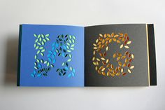 Handmade book.  Isn't this lovely?