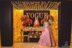 Festa Tema Vogue de 15 anos da Ana Clara e625a1f0b852