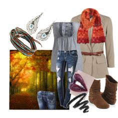 A little something I put together along with a picture for inspiration on polyvore.com
