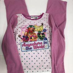 NWT Birthday Gift Moose Shopkins Warm Bathrobe For Bath Girls Sizes 4 6 8 10
