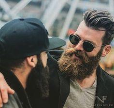 bigbadbeards • bugsy99:   TWO BEAUTIFUL MEN WITH BEARDS. I  DON'T...
