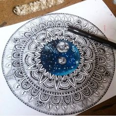 "Instagram Art Featuring Page az Instagramon: ""Amazing Mandala Drawing By @h0useofw0lves_ _ Also check out our fellow art page @worldofartists"""