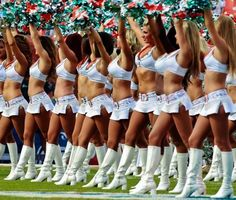 71 dolphins football memorabilia pinterest | Miami Dolphins cheerleaders