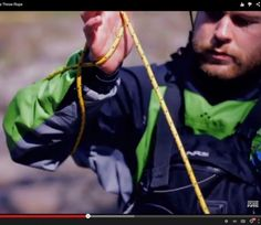 Video Skill: How to Quickly Coil a Throw Rope