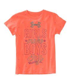 Electric Tangerine 'Girls R Better' Tee