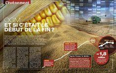 """""""OGM : ET SI C'ÉTAIT LE DÉBUT DE LA FIN ?  Vingt ans après leur apparition, les cultures de plantes transgéniques perdent pour la première fois du terrain. Et pour cause ! Rendements décevants, insecticides... Au-delà du débat sur leurs risques, les OGM n'ont pas tenu leurs promesses.""""... https://www.science-et-vie.com/article/ogm-et-si-c-etait-le-debut-de-la-fin-8641"""