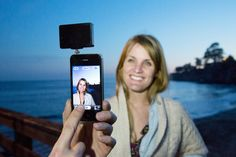 The Pocket Spotlight - Best phone head jack accessory yet - photojojo Gadgets And Gizmos, Cool Gadgets, Photography Business, Photography Tips, Pack Of Gum, Gifts For Photographers, Color Filter, Cute Wedding Ideas, Best Phone