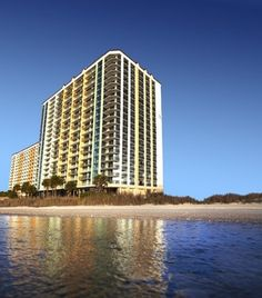 Best Affordable Beachfront Hotels: Caribbean Resort & Villas in Myrtle Beach, S.C., sits on a quiet stretch of beach north of the boardwalk and its attractions. (Courtesy Caribbean Resort & Villas)