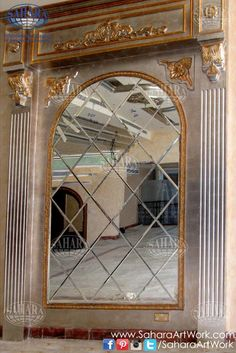 A beautiful set of diamond-shaped beveled mirrors! From our colored and antique mirror collection.