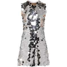 DRESS ($4,260) ❤ liked on Polyvore featuring dresses, long length dresses, long sequin dress, sequined dress, straight dresses and long cocktail dresses