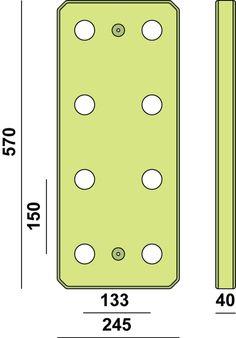 Das Ant Hill Pegboard ist ein einfaches aber hocheffizientes Trainingsgerät für Kletterer, Kampfsportler, Triathleten oder alle die einen ganzheitlich durchtrainierten Oberkörper brauchen. Das...