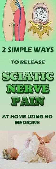 simple ways to release sciatic nerve pain